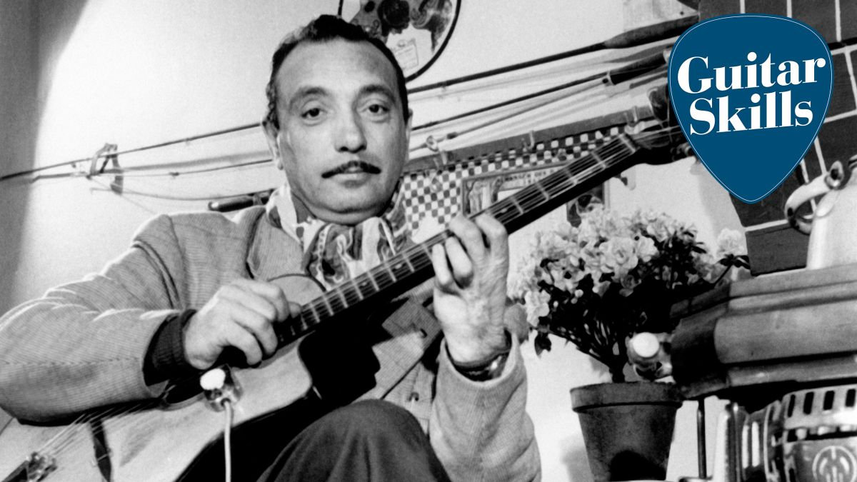 3 tips for easier gypsy jazz rhythm guitar: chords, strumming and picking