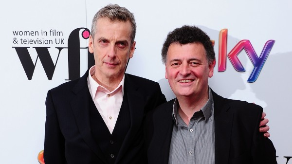 Doctor Who star Peter Capaldi Steven Moffat