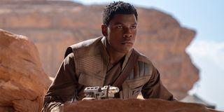 John Boyega as Finn in Star Wars The Rise Of Skywalker