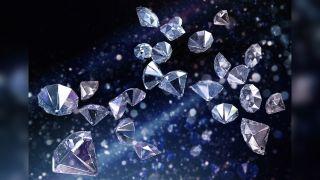a cascade of diamonds