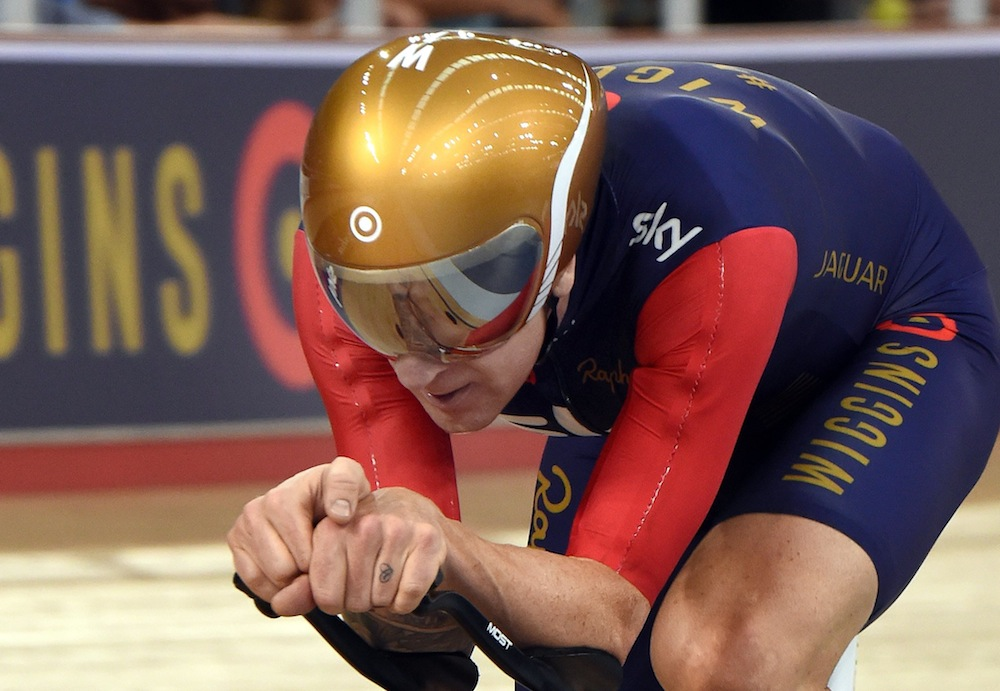 Bradley Wiggins gains over 11kg as he prepares for Olympic team pursuit