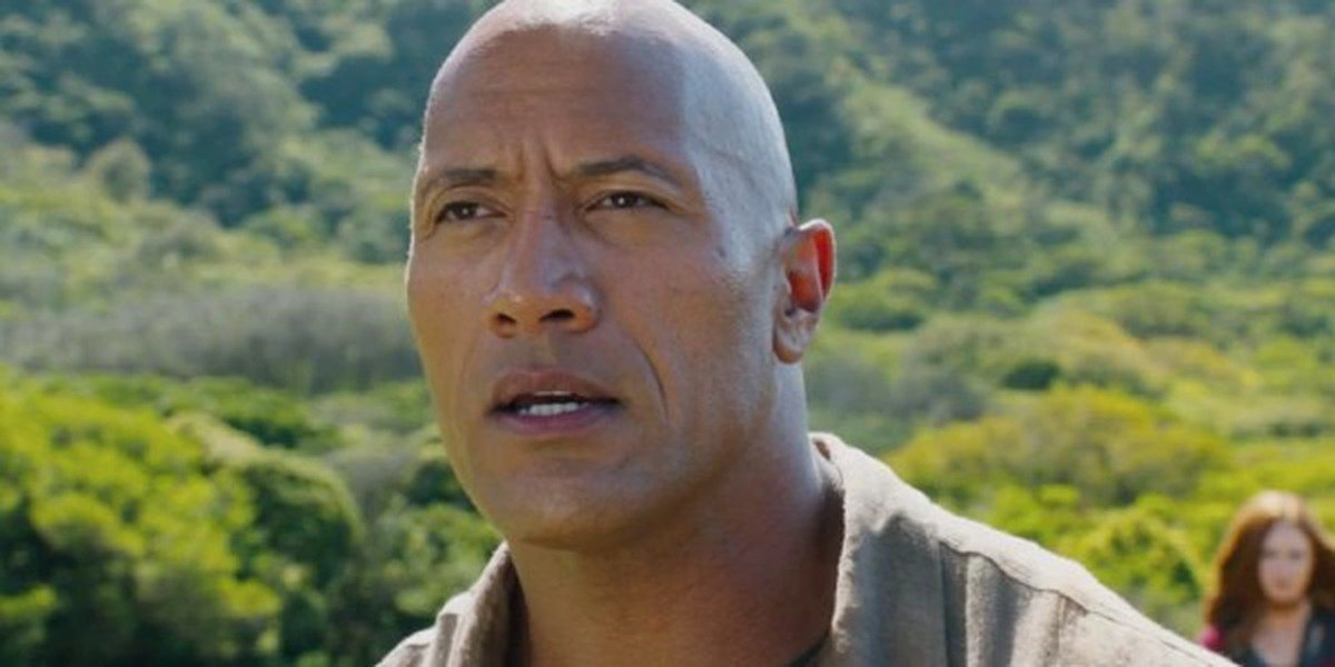 "Dwayne ""The Rock"" Johnson in Jumanji"