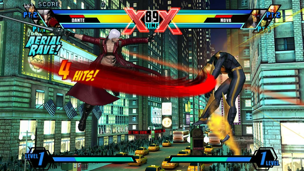 Ultimate Marvel Vs Capcom 3 PS Vita Screenshots #19942
