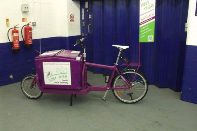 One of Last Mile Leeds' adapted bikes (Photo: Twitter/@lastmileleeds)