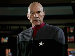 """Patrick Stewart as Captain Picard in """"Star Trek: First Contact."""""""