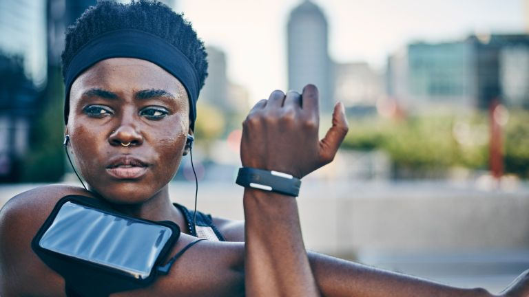 Listening to music (or a podcast) on workout earbuds and headphones
