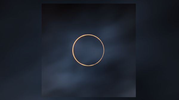Solar eclipse looks otherworldly in 'Golden Ring' astrophotography shot