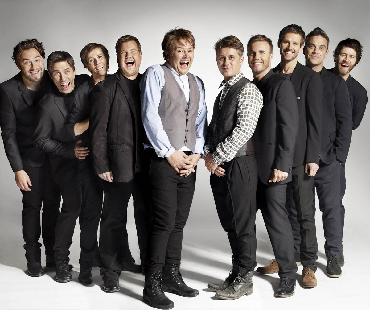 Take That meets Fake That for Comic Relief (VIDEO)