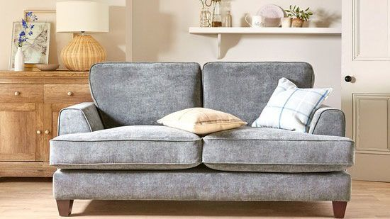 grey toned sofa from very