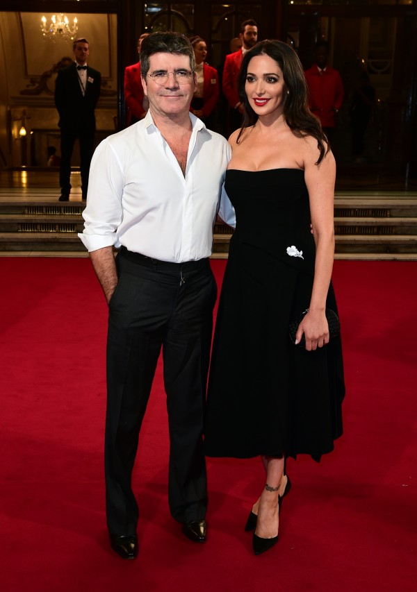 Simon Cowell and Lauren Silverman, who were sleeping in the house when it was burgled