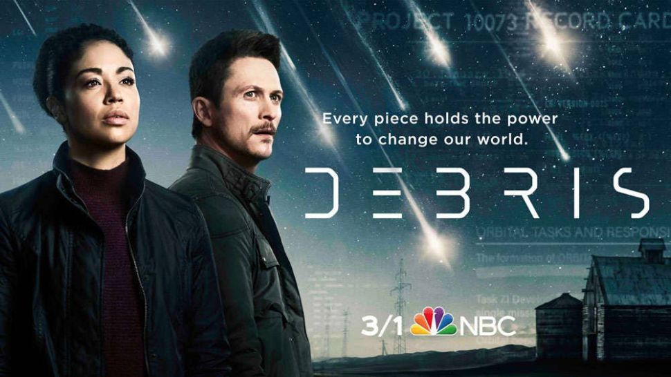 'Debris' revealed: Take a 1st look at NBC's new sci-fi alien drama