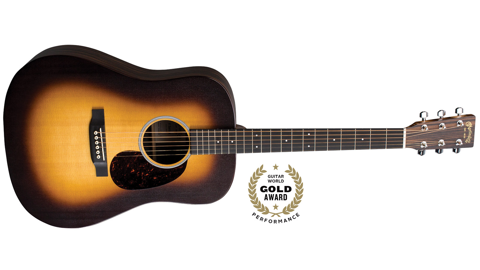 Review: Martin DX1AE Macassar Burst Acoustic-Electric Guitar