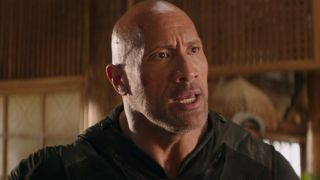 Dwayne Johnson in Fast and Furious spinoff Hobbs and Shaw