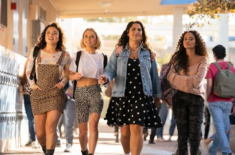 Madison Pettis, Lizze Broadway, Natasha Behnam and Piper Curda star in 'American Pie: Girls' Rules'.