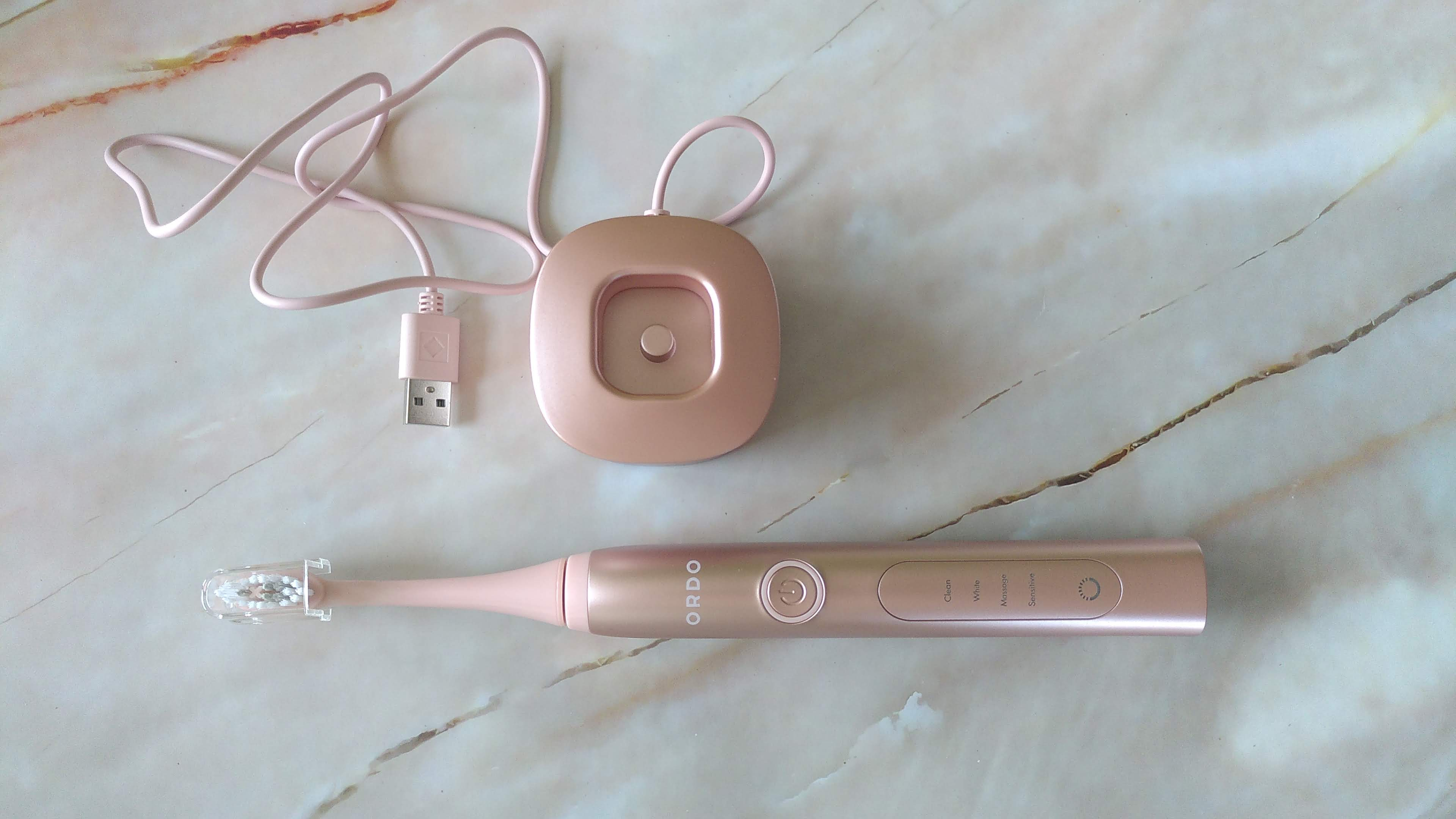Ordo Sonic+ electric toothbrush with charger