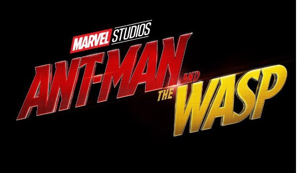 Ant-Man and The Wasp flashy red and yellow logo