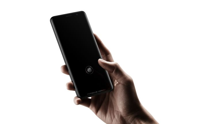 Huawei in-screen fingerprint reader