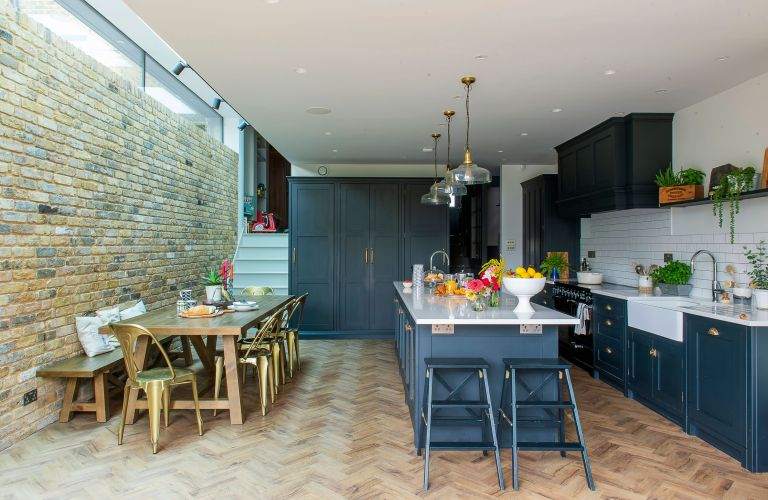 Georgia and Matt Blundell's extended Victorian home in Blackheath, London, shows design flair and practicality can go hand in hand