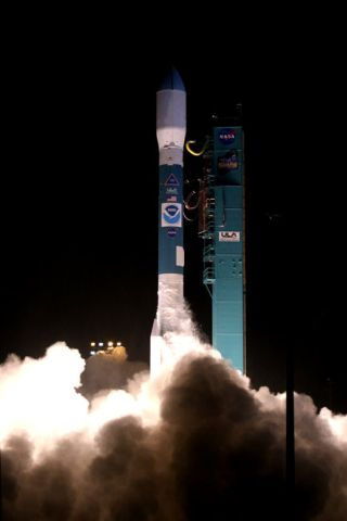 History Abounds in Launch of Crucial Weather Satellite