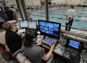 Virginia Tech Swimming Facility Uses Vaddio Cameras