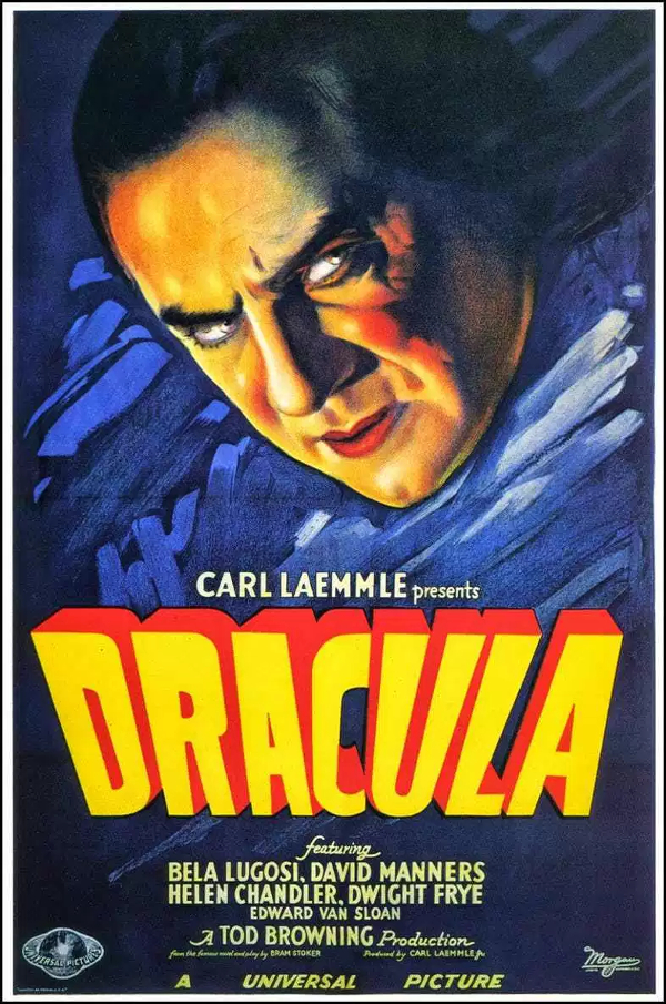 Dracula Bela Lugosi 1931 one sheet