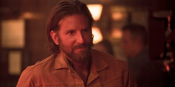 Bradley Cooper's Jackson Maine in a bar