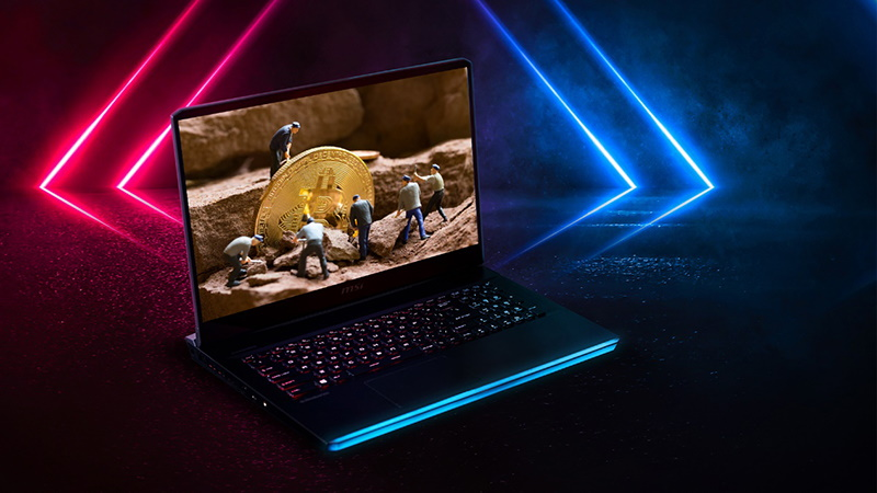 MSI promotes cryptocurrency mining on its gaming laptops