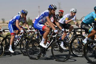 Groupama-FDJ's Jacopo Guarnieri on stage 3 of the 2020 UAE Tour