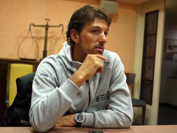Fabian Cancellara talks, Tirreno-Adriatico 2012