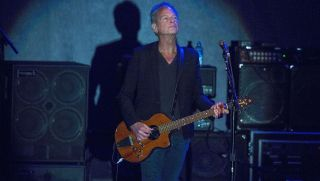Lindsey Buckingham performs at Humphrey's on October 19, 2017 in San Diego, California