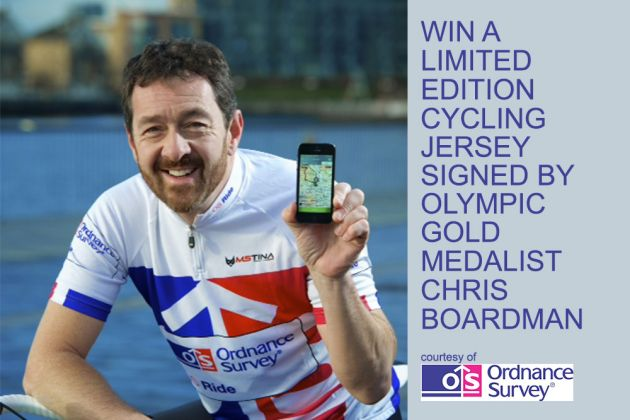 Chris Boardman Ordnance Survey