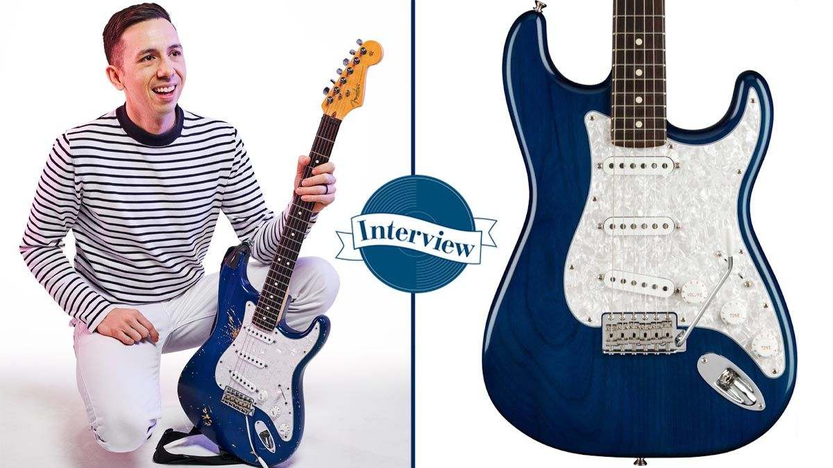 """Cory Wong: """"The Stratocaster is exactly the way I want to sound... I pick it up, throw it in 4th position and I just feel at home"""""""