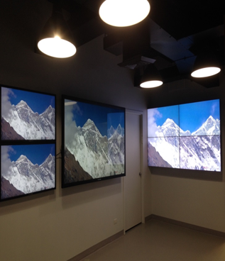 Primeview NYC Video Wall Showroom Completed