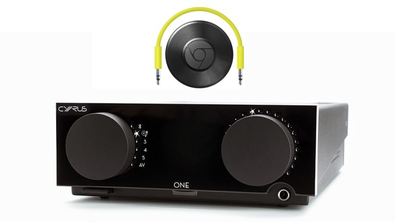 Tidal streaming + Cyrus One amp + Chromecast = audiophile streaming