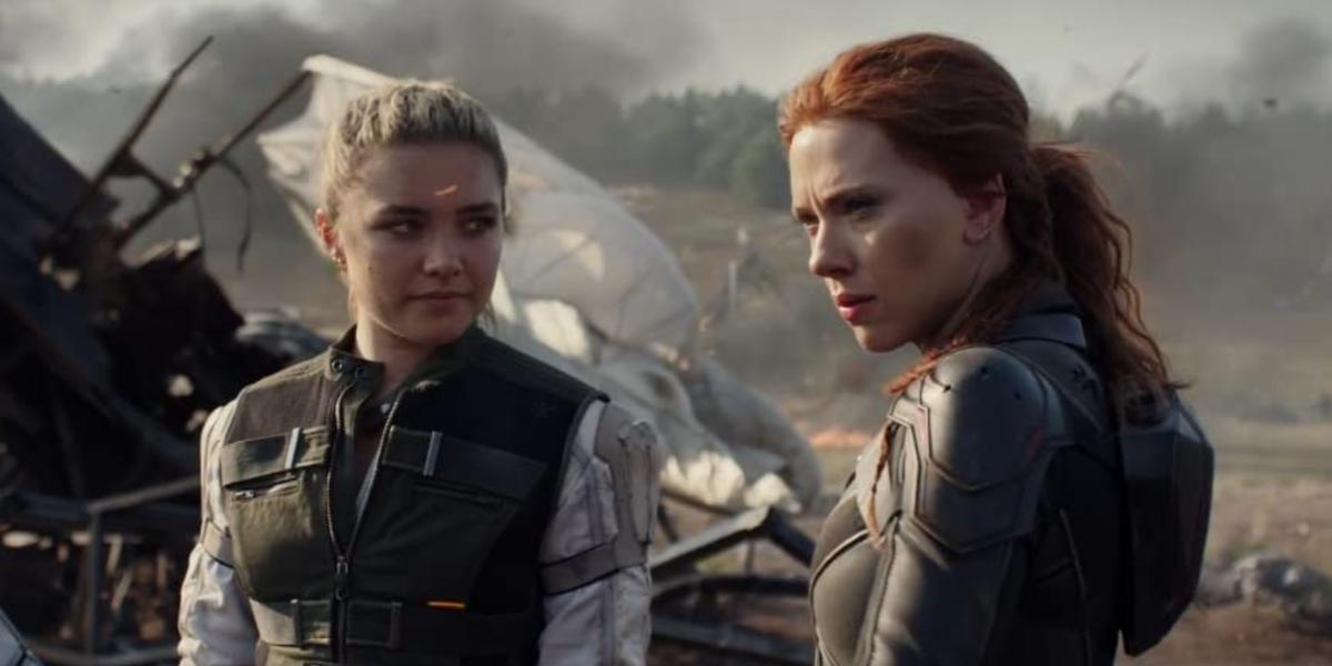Natasha and Yelena in Black Widow
