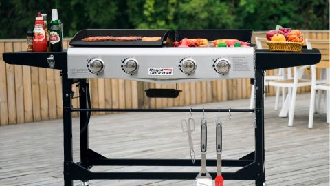 Royal Gourmet GD401 4-Burner Folding Gas Grill and Griddle review