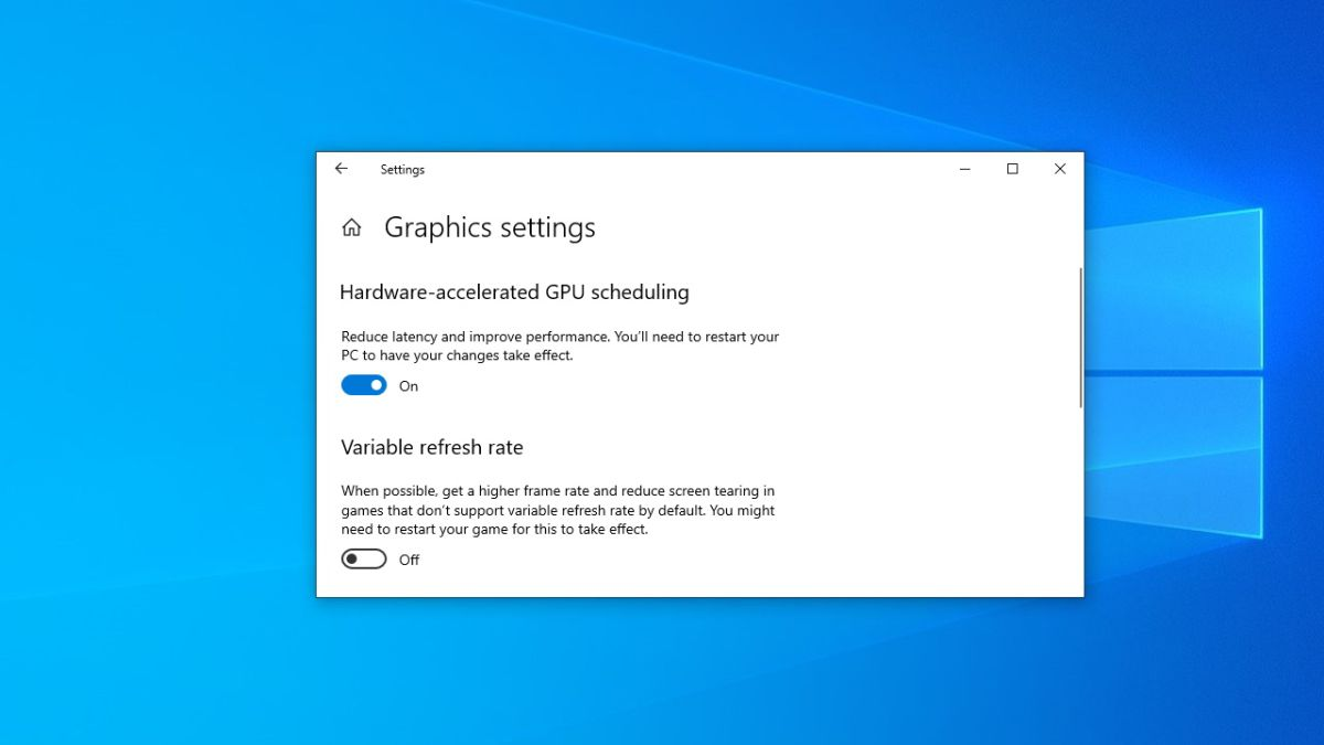 Windows 10 May Update could boost your gaming performance for free