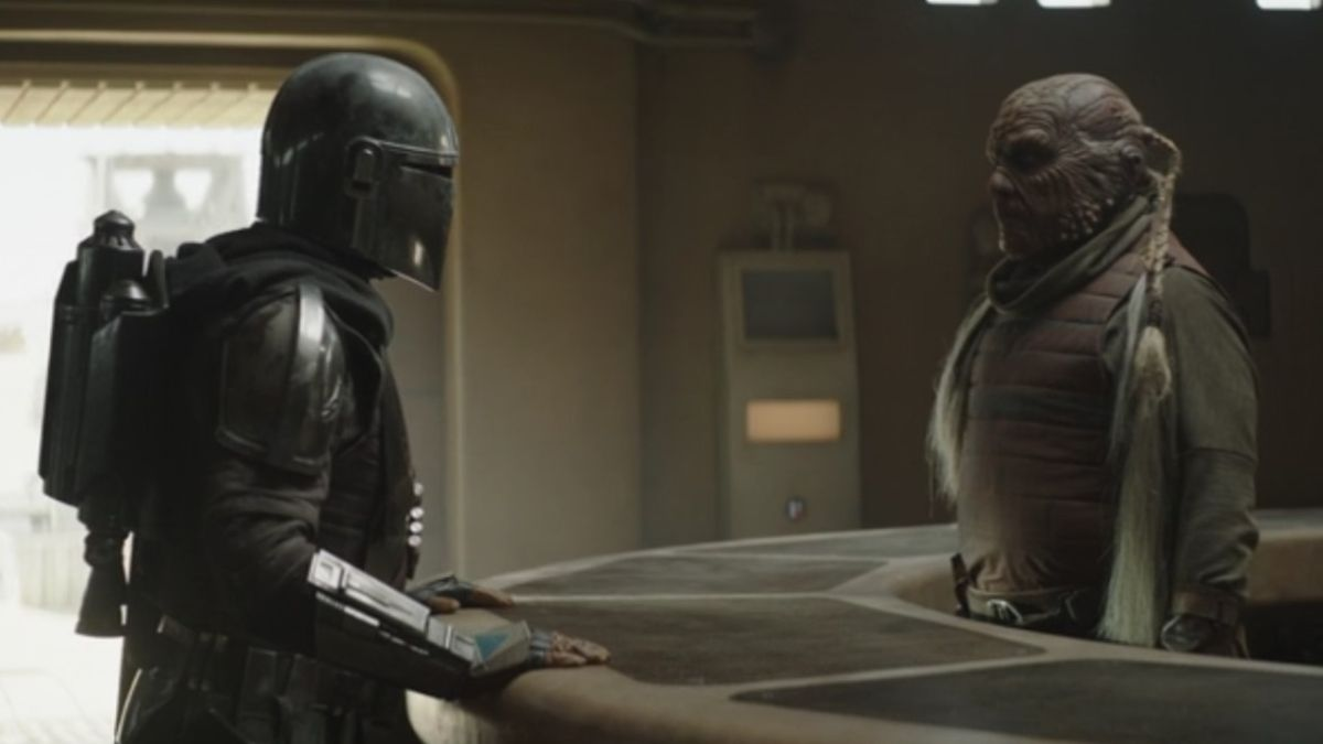 The Mandalorian season 2 premiere features an unlikely link to Return of the Jedi