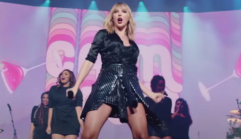 Taylor Swift Lover in Paris concert film