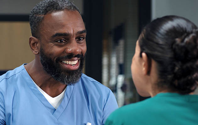 Charles is delighted Jacob's new storyline is going to be front and centre in Casualty