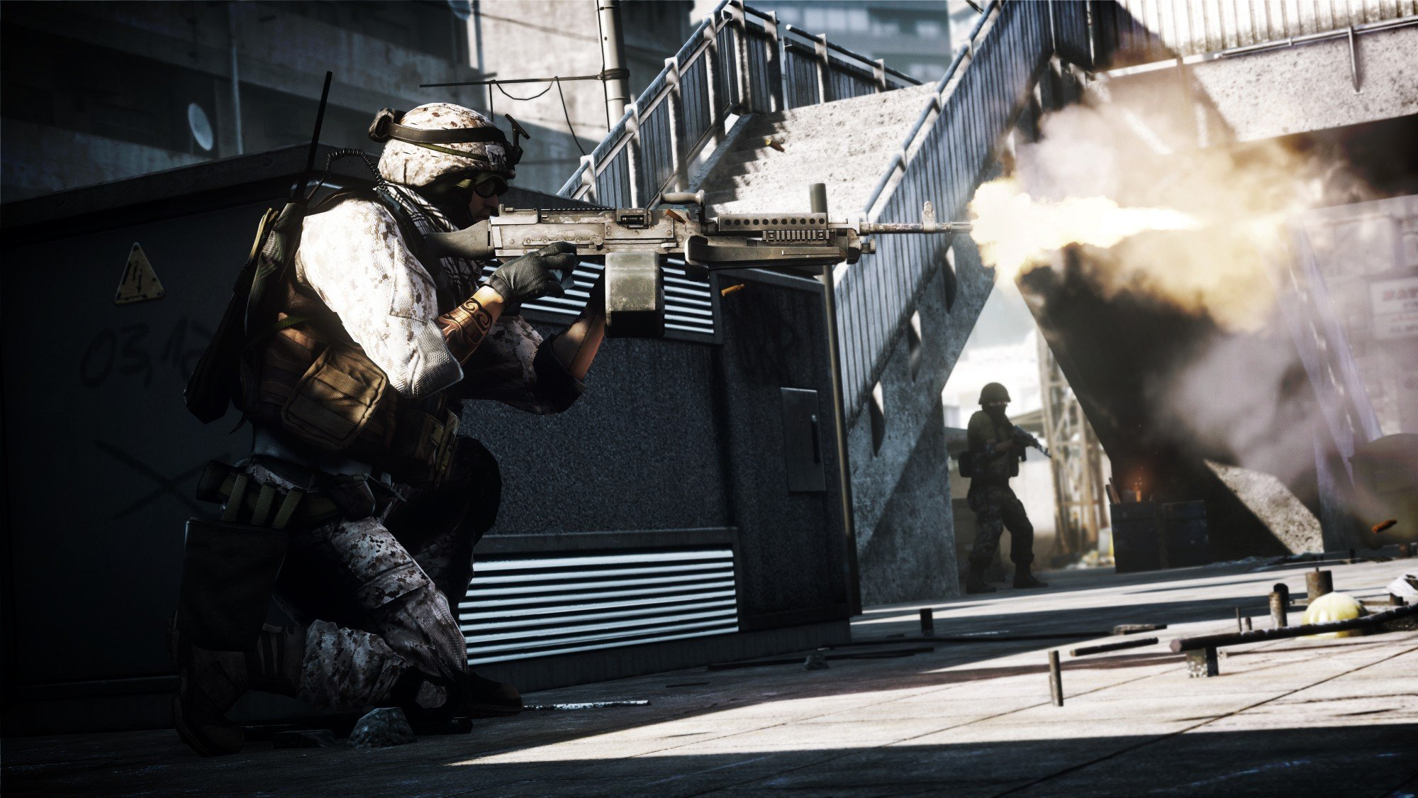 Battlefield 3 HD Concept Art And In-Game Screenshots Released #16618
