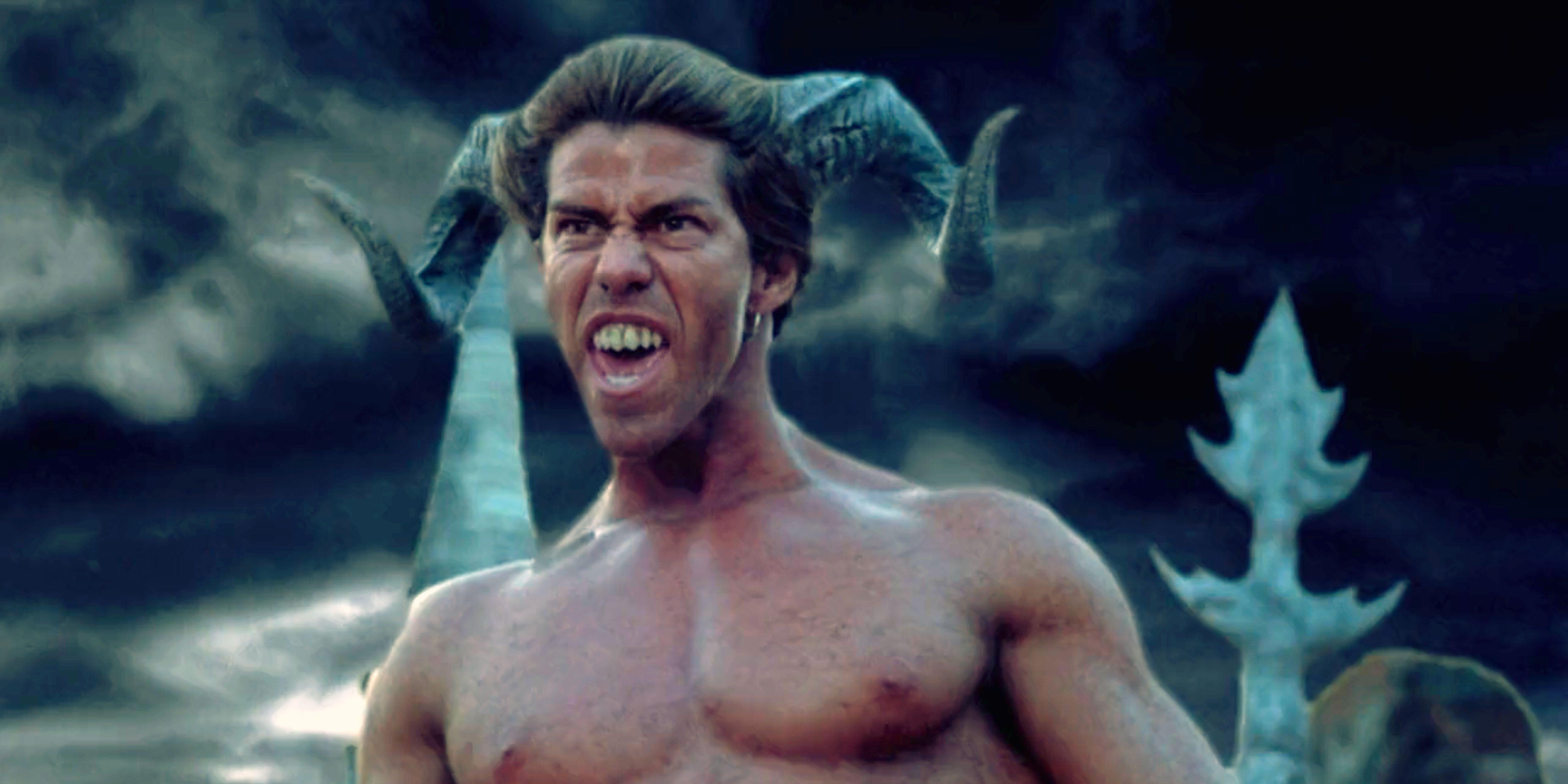 Motaro squares off for battle in Mortal Kombat: Annihilation