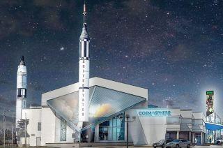 Artist concept of Kansas Cosmosphere
