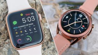 Samsung Galaxy Watch 3 vs. Apple Watch 5