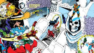 Panel from Infinity Gauntlet