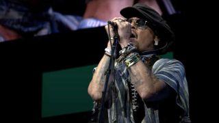 Johnny Depp onstage