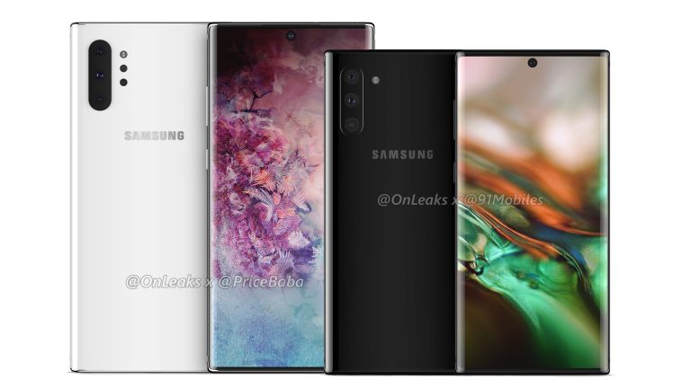 Samsung Galaxy Note 10 Pro cases leaked