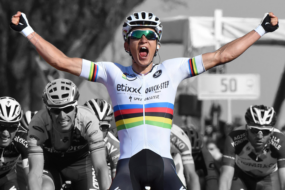 Icons of cycling  the Rainbow Jersey - Cycling Weekly da56c79a5