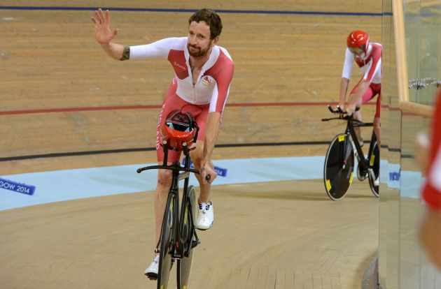 Bradley Wiggins, Commonwealth Games 2014, track day one, afternoon