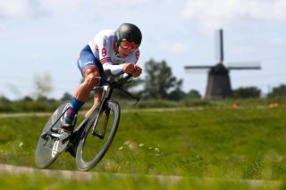 Charlie Quarterman, the British U23 time trial champion